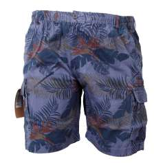 Espionage - Floral Cargo Shorts (1)